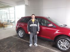 Jake Jakubowski and the rest of us here at Court Street Ford would like to say congratulations to Fredrick Rozak of Bourbonnais on the purchase of his 2014 Ford Edge. Thank you for your business!