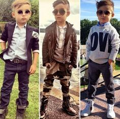 Also adorable and how my future son will dress. Especially the first one.
