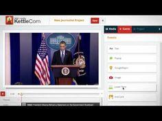 KettleCorn, para añadir narraciones a videos, traducciones, mapas....edición de videos online