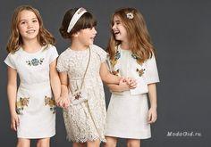 Детская мода. Только для девочек. Весна-лето 2015. Dolce & Gabbana…