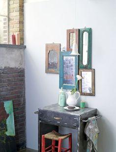 EN MI ESPACIO VITAL: Muebles Recuperados y Decoración Vintage: vintage