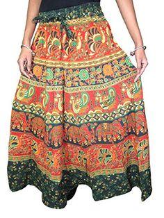 Designer Clothes, Shoes & Bags for Women Maxi Skirt Boho, Womens Maxi Skirts, Gypsy Skirt, Hippie Skirts, Boho Skirts, Hippie Boho, Bohemian Style, Bohemian Fashion, Beach Wrap Skirt