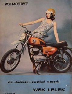 European Motorcycles, Vintage Motorcycles, Cars And Motorcycles, Poland Country, Eastern Europe, Motorbikes, Vintage Ladies, Pin Up, The Past