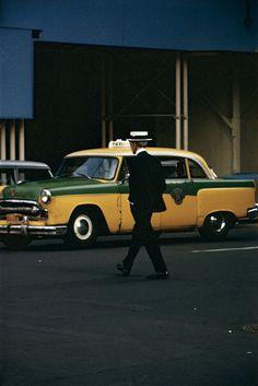 Straw Hat   Saul Leiter   ca. 1955   #truenewyork #lovenyc