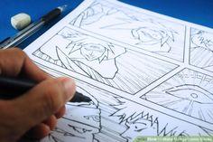 How To Make Manga Comic Books 4 Steps With Pictures Comic Books Diy Comic Tutorial Comic Books