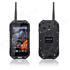 """iMAN i6 Android 4.4 Octa-Core IP68 Waterproof Walkie Talkie 3G Phone w/ 4.7""""/2GB/32GB/WiFi/GPS/BT"". . Tags: #Cell #Phones #Accessories #Cell #Phones #Android #Phones"