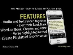 Scourby Bible Apps Presents the Complete King James Bible in the Voice of Alexander Scourby