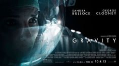 Gravity is an upcoming drama film directed by Alfonso Cuar�n. The film stars Sandra Bullock and George Clooney as surviving astronauts in a damaged space station.