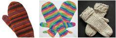 14 Free Knit Mitten Patterns