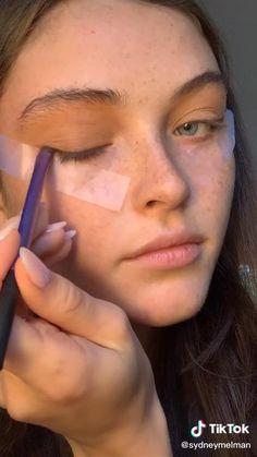 Edgy Makeup, Makeup Eye Looks, Cute Makeup, Pretty Makeup, Skin Makeup, Blonde Hair Makeup, Glamour Makeup, Makeup Videos, Makeup Tips
