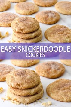 Cookie Recipes 38139928082642210 - This incredibly easy snickerdoodle recipe can be made without cream of tartar, only requires 7 ingredients, and makes the best soft, chewy, and thick snickerdoodles! Source by bakerbettie Smores Dessert, Dessert Dips, Easy Baking Recipes, Easy Cookie Recipes, Cooking Recipes, Bake Goods Recipes, Very Easy Cookie Recipe, Easy Recipes For Desserts, Keto Recipes