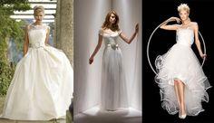 """""""Wedding splendor"""" dresses."""