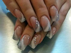 awesome acrylic nail designs with diamonds and squares http://gelnaildesignspic.com/?p=806