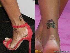 33 Best Rihanna Ankle Tattoo Images Rihanna Ankle Tattoo