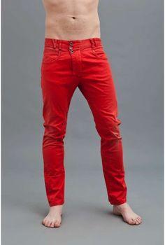 Ανδρικό Παντελόνι Χρώμα Κόκκινο (Tomato)