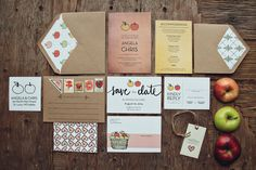 A Bushel and a Peck Wedding invitation by yoursistheearthshop