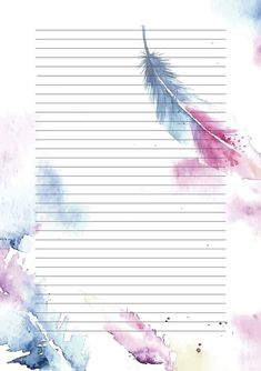 Most current Totally Free Scrapbooking Paper hojas decoradas Thoughts Scrapbooking paper styles the setting for each webpage within your scrapbook. In case you begin to c Printable Lined Paper, Free Printable Stationery, Free Printables, Notebook Paper, Stationery Paper, Note Paper, Diy Paper, Paper Design, Scrapbook Paper