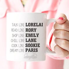 Gilmore girls inspired mugs for best friends.  Browse our full collection here: https://www.etsy.com/ca/shop/artRuss  High quality ceramic coffee mug. Real art every morning with your coffee or tea! Printed on both sides, so you can see the design no matter the angle. Colors may appear slightly different on your digital screen. Mugs will be shipped within 3-5 business days following payment, in a thick protective box.  Size: 11oz, 15oz Material: Ceramic, glossy finish Maintenance: Dishwasher…