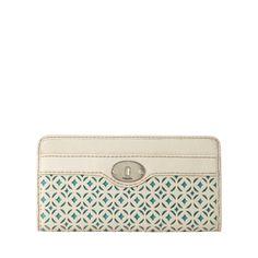 FOSSIL® Wallets Checkbook Wallets:Women Marlow Zip Clutch SL4100
