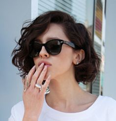 wavy bob with bangs - Google Search