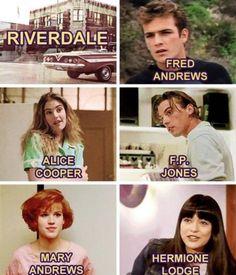 Riverdale in the Riverdale Quotes, Bughead Riverdale, Riverdale Archie, Riverdale Funny, Riverdale Netflix, Fandoms Unite, Betty Cooper, Alice Cooper, Betty & Veronica