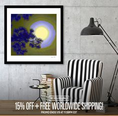 Discover «Harest Moon», Limited Edition Fine Art Print by Glink - From $29 - Curioos