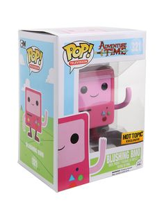 Funko Adventure Time Pop! Television Blushing BMO Vinyl Figure Hot Topic Exclusive | Hot Topic