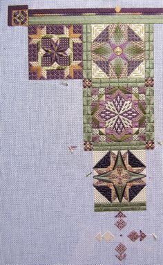 Wherein the former owner of an embroidery supplies shop explores the vast world of needlework. Anything and everything she finds interesting. Broderie Bargello, Bargello Needlepoint, Needlepoint Stitches, Needlepoint Canvases, Needlework, Hand Work Embroidery, Cross Stitch Embroidery, Embroidery Patterns, Cross Stitch Patterns