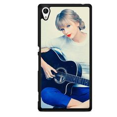 Taylor Swift Playing Guitar Wallpaper 1280x1024 TATUM-10548 Sony Phonecase Cover For Xperia Z1, Xperia Z2, Xperia Z3, Xperia Z4, Xperia Z5