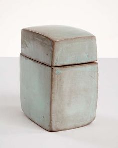 View this item and discover similar boxes for sale at & & Blue Medium Square Shaped Ceramic Box with a Lid,& glazed ceramic. Designed and made by Hun-Chung Lee, Korea, The post Ceramic Box by Hun-Chung Lee appeared first on Trendy. Ceramic Boxes, Ceramic Jars, Glazed Ceramic, Ceramic Clay, Slab Pottery, Pottery Art, Pottery Ideas, Chung Lee, Slab Boxes