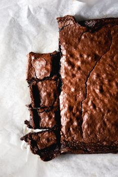 Vegan, gluten free brownies (that are as fudgy crispy as their regular counterparts) - Georgeats