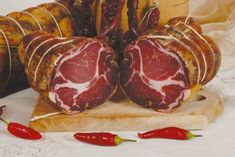 The origins of the production of cold cuts in Calabria date back probably to the time of the Greek colonization of the Ionian coasts...