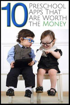 The BEST preschool apps for the money