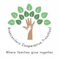 Hippie co-op preschool logo