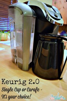 Check out the NEW Keurig 2.0 - make a pot or a cup & enter to win a $200 Kohl's Gift Card