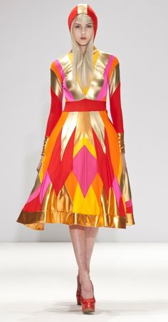 ...Bold, beautiful color AND a hood, too!??  #in my fashion glory!!!