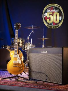 Gibson Custom Limited Edition Marshall 50th Anniversary Les Paul Goldtop & 1962LE Bluesbreaker Amp Package