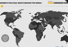 Women's political rights around the world in one interactive map. http://777voting.com/