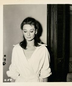 Darling. Test shot of Audrey Hepburn