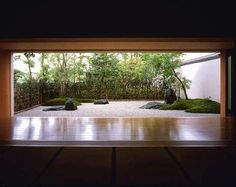 """The zen garden is intended to be viewed from specific viewpoints, to calm the mind and soul. As Masuno says, """"You gaze upon the garden as though it is a picture."""" It is a tool of concentration."""