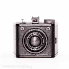 Vintage Camera Kodak Brownie Retro Decor by ShadetreePhotography, $20.00