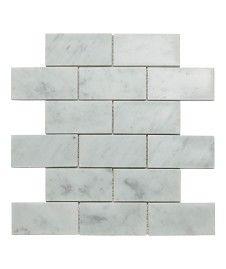Carrara Brick Mosaic