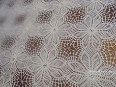 Crochet Bedspread, Crochet Tablecloth, Crochet Doilies, Filet Crochet, Hobbies And Crafts, Tatting, Free Pattern, Crochet Patterns, Rugs