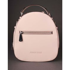 Armani Jeans Backpack Beige (11,650 INR) ❤ liked on Polyvore featuring bags, backpacks, buckle bag, strap backpack, buckle strap backpack, beige backpack and day pack backpack