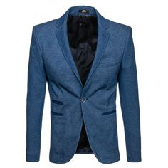 Svetlo modré pánske sako s ukrytými vreckami - fashionday.eu Blazer, Jackets, Men, Fashion, Down Jackets, Fashion Styles, Jacket, Blazers, Fashion Illustrations