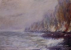 Claude Monet The Effect Of Fog Near Dieppe oil painting reproductions for sale