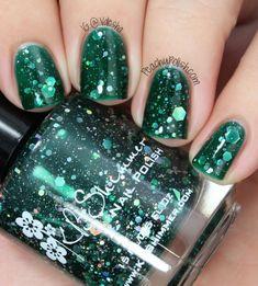 KBShimmer Green Hex & Glam