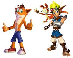 My Favorites!! Crash Bandicoot & Jak and Daxter