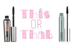 Benefit They're Real Mascara vs. Clinique Lash Doubling Mascara