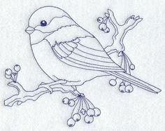 Chickadee (Bluework)